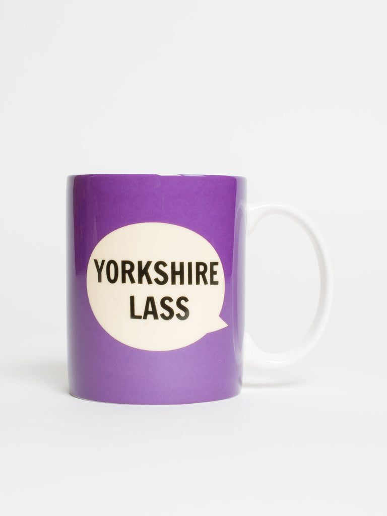 Yorkshire Lass Mug - Car & Kitchen