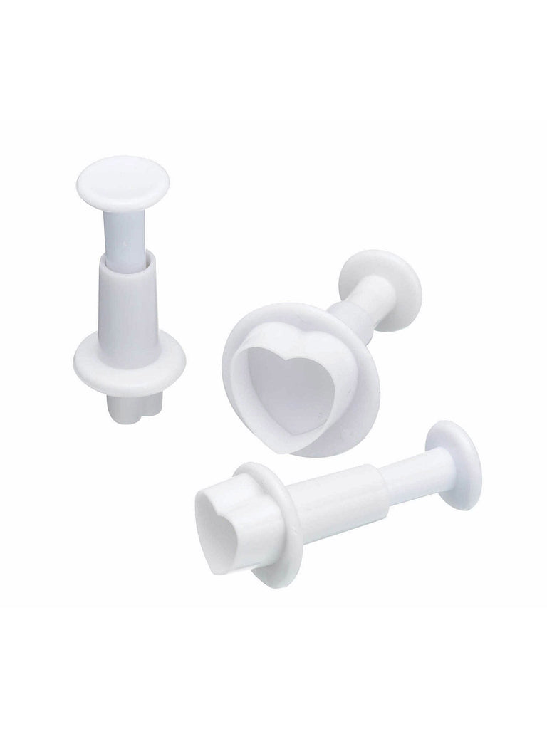 Heart Plunger Cutters Set of 3