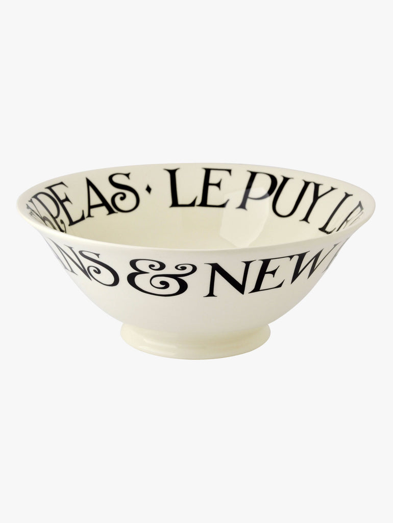 Black Toast 2015 Medium Serving Bowl - Car & Kitchen