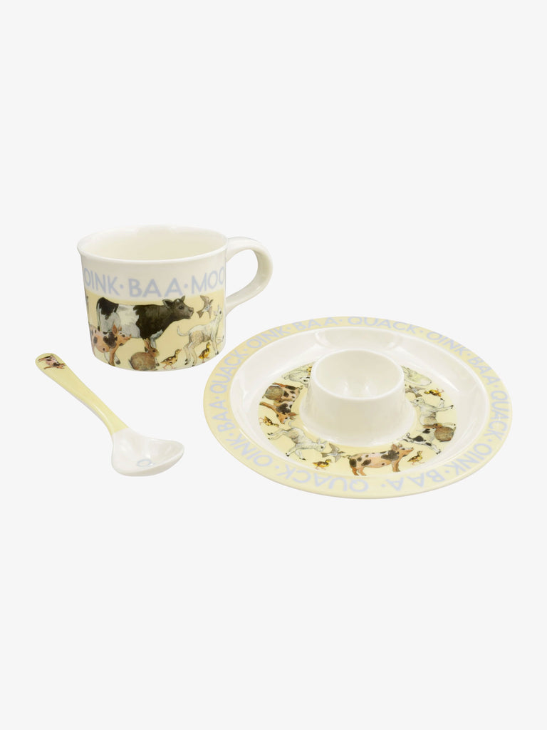 Bright New Morning Melamine Breakfast Set
