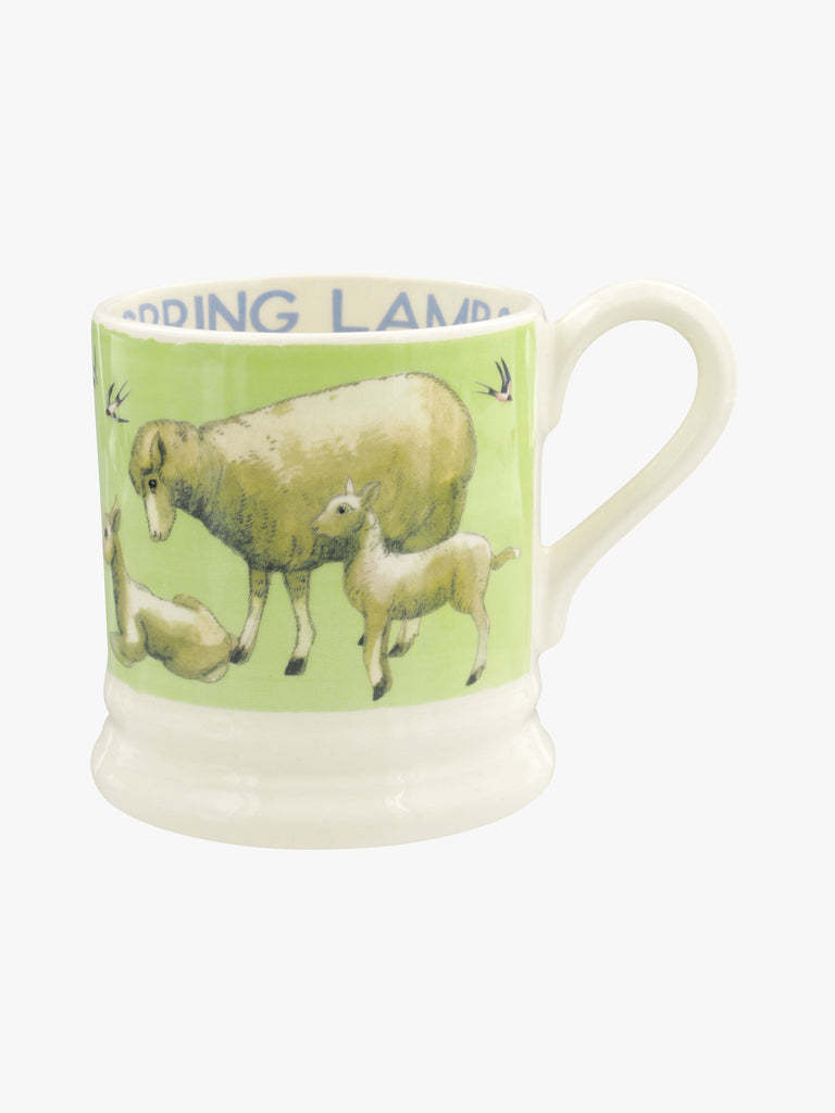 Bright New Morning Spring Lambs Mug