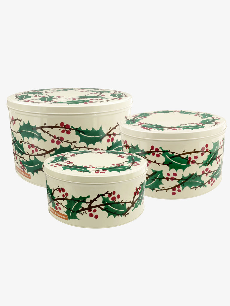 Winterberry Set of 3 Round Cake Tins - Car & Kitchen