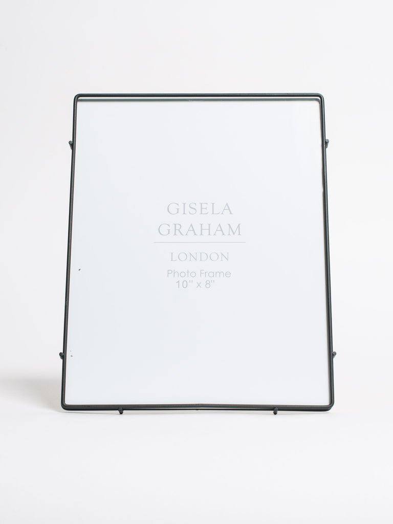 Black Metal Edge Glass Frame Large - Car & Kitchen