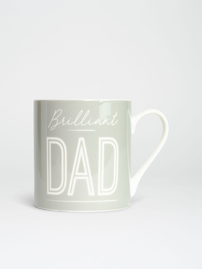 Light Grey 'Dad' Ceramic Mug - Car & Kitchen