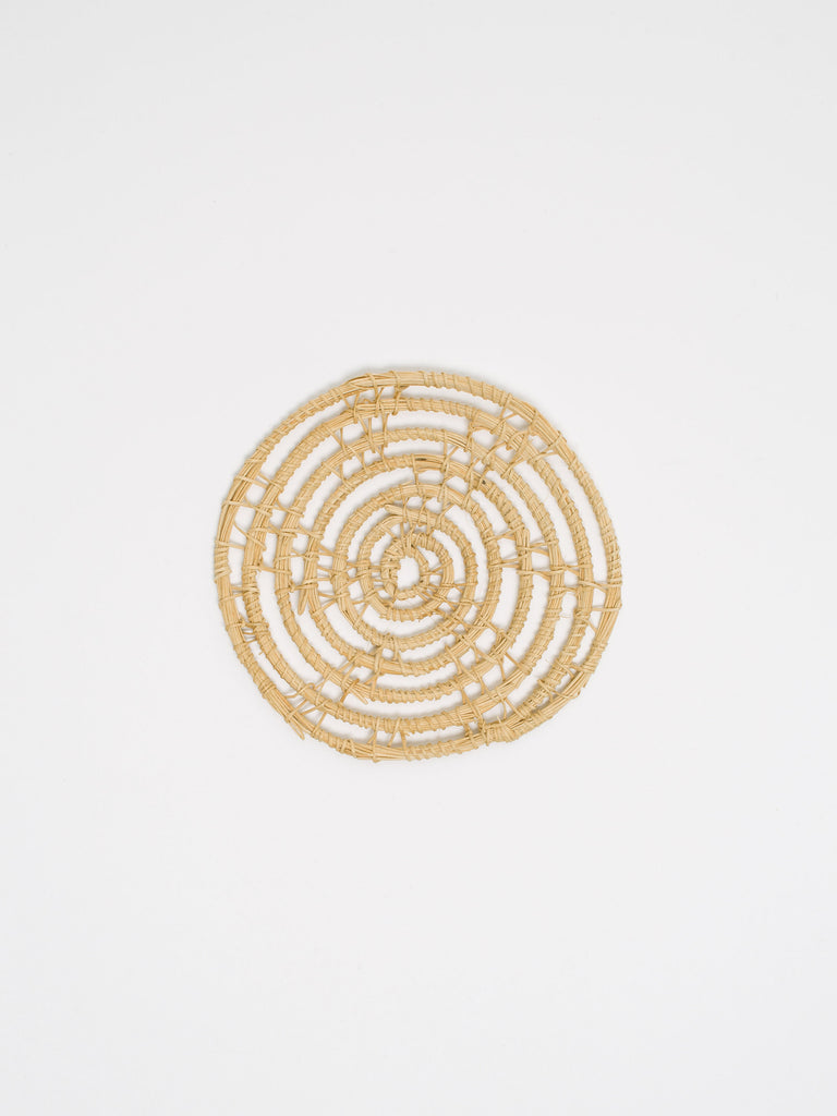 Woven Palm Fibre Coaster - Car & Kitchen
