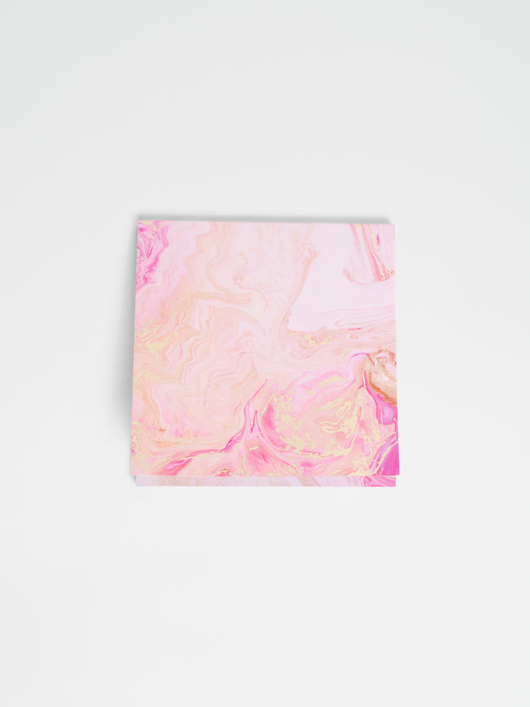 Rose Quartz - Sticky Notes - Car & Kitchen