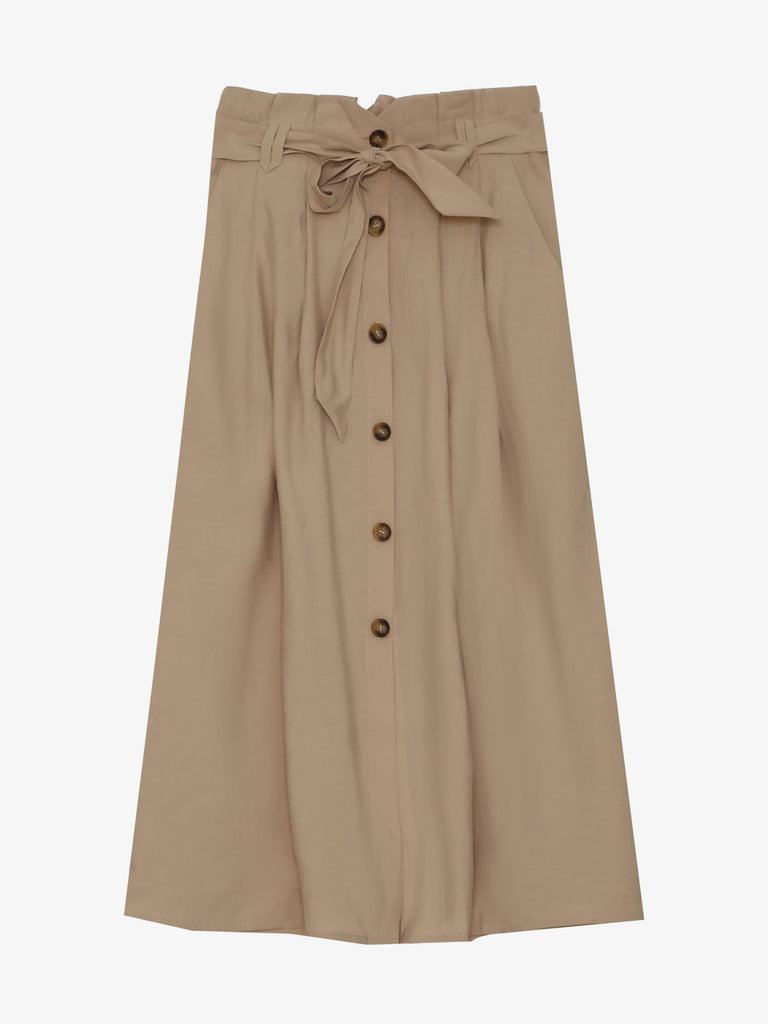 Beige Air Skirt