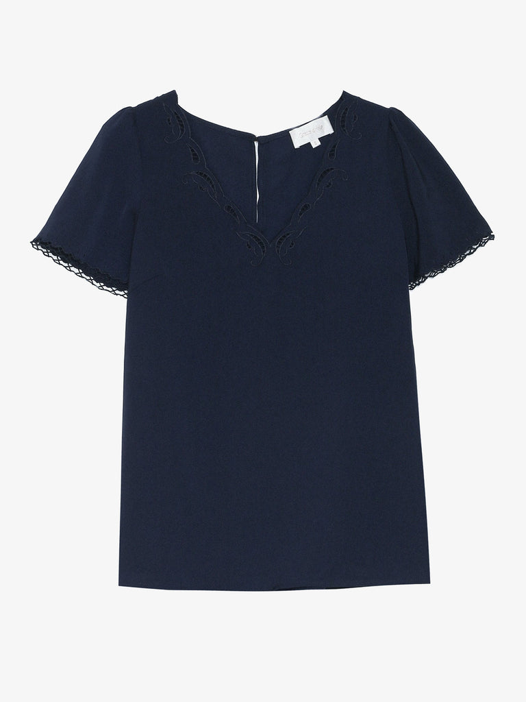 Navy Amusante Top