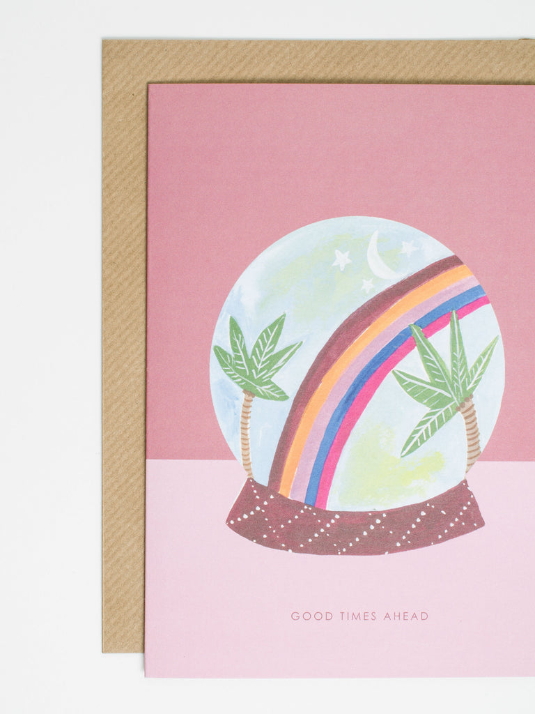 Globe Rainbow Card - Car & Kitchen