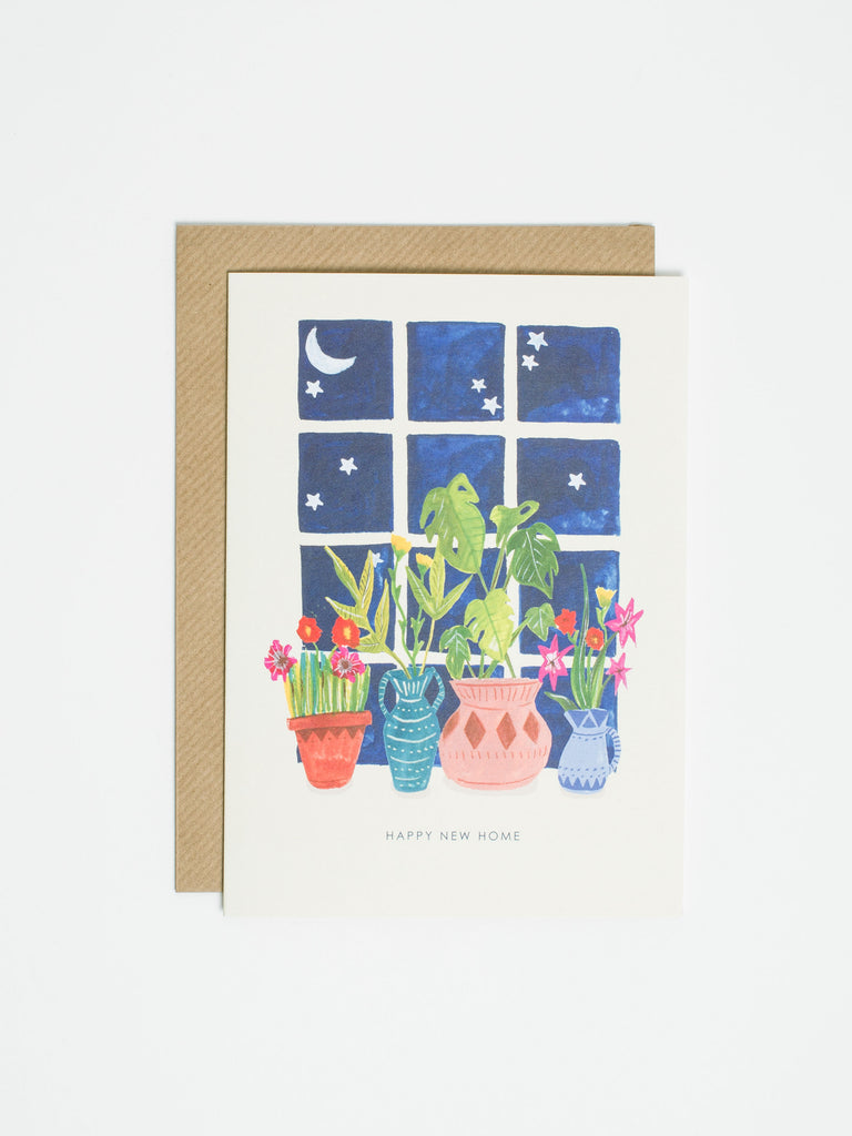 New Home Window Card - Car & Kitchen