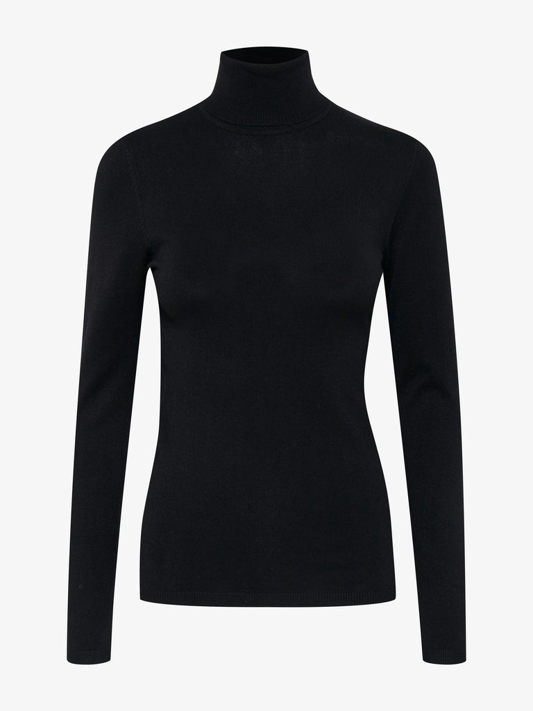 Black Mafa Roll Neck