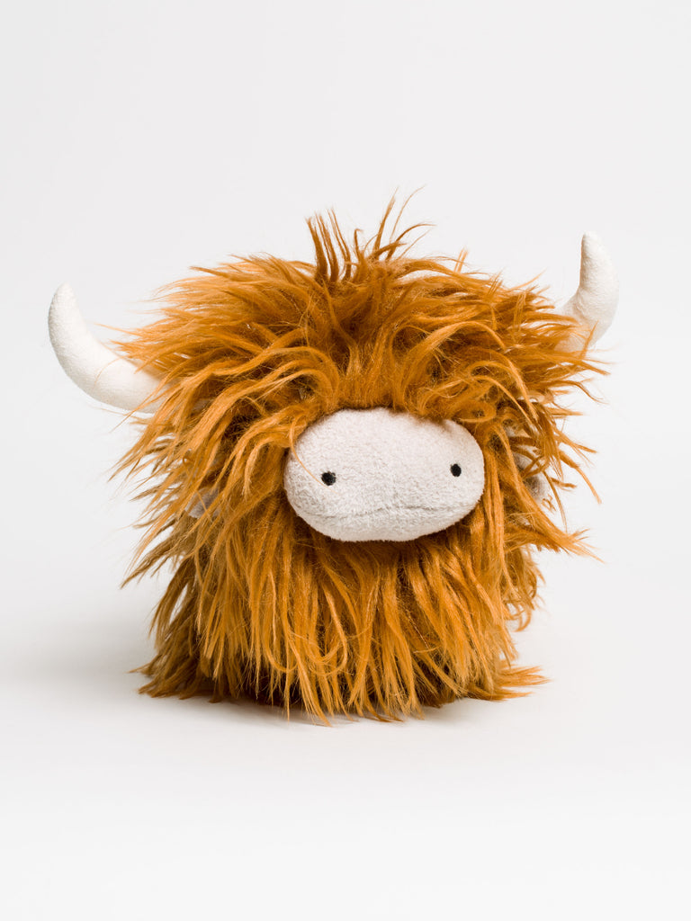 Charming Highland Cow - Car & Kitchen