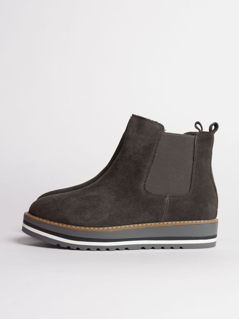 Chelsea Boot Suede Grey - Car & Kitchen