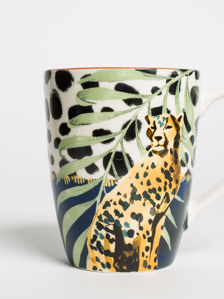 Cheetah Bullet Mug - Car & Kitchen