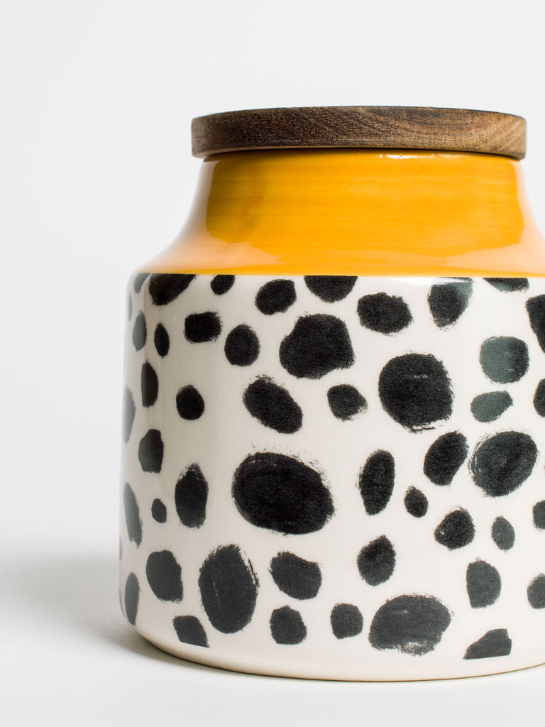 Cheetah Storage Jar - Car & Kitchen