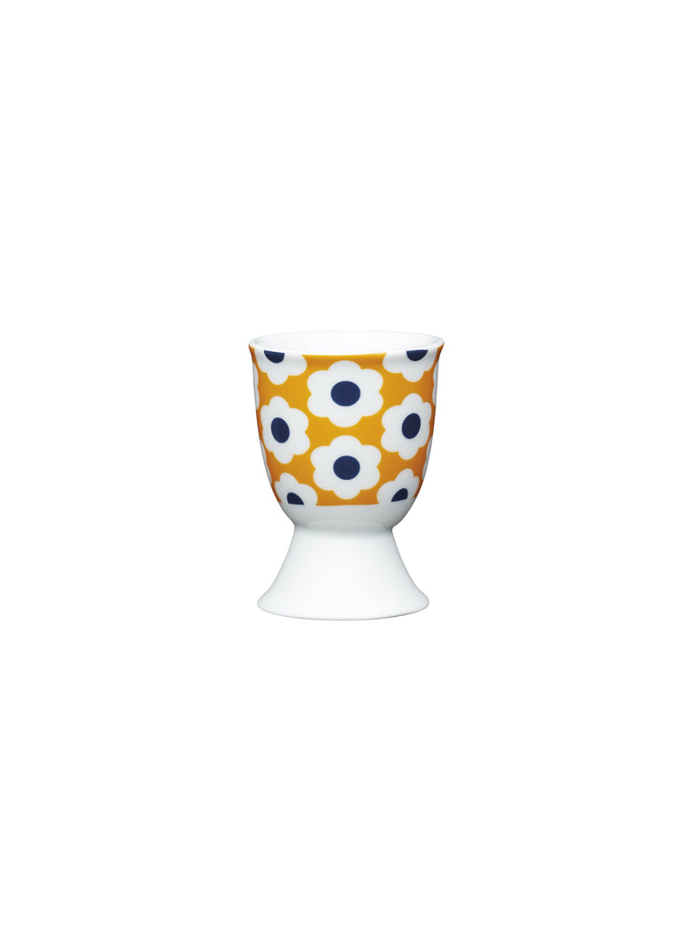 Retro Flower Egg Cup
