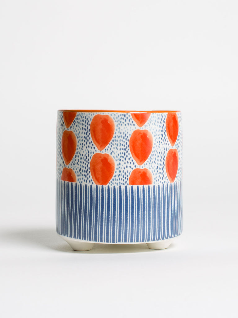 Spots And Stripes Planter - Car & Kitchen