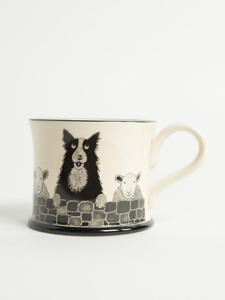 Yorkshire Sheep Dog Mug - Car & Kitchen