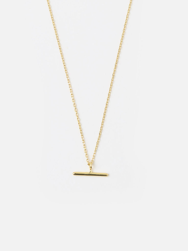 T-Bar Ditsy Necklace - Gold - Car & Kitchen