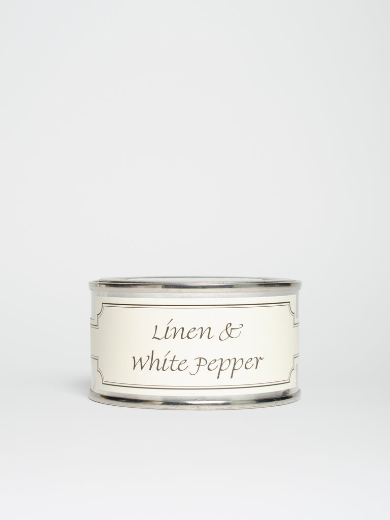 Linen & White Pepper Candle - Car & Kitchen
