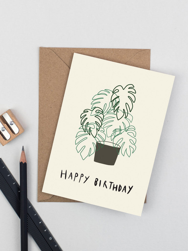Happy Birthday Monstera
