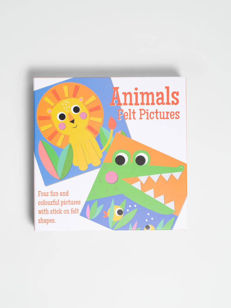 Animal Felt Picture Kit - Car & Kitchen