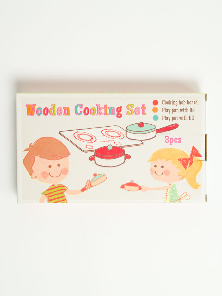 Wooden Cooking Set - Car & Kitchen