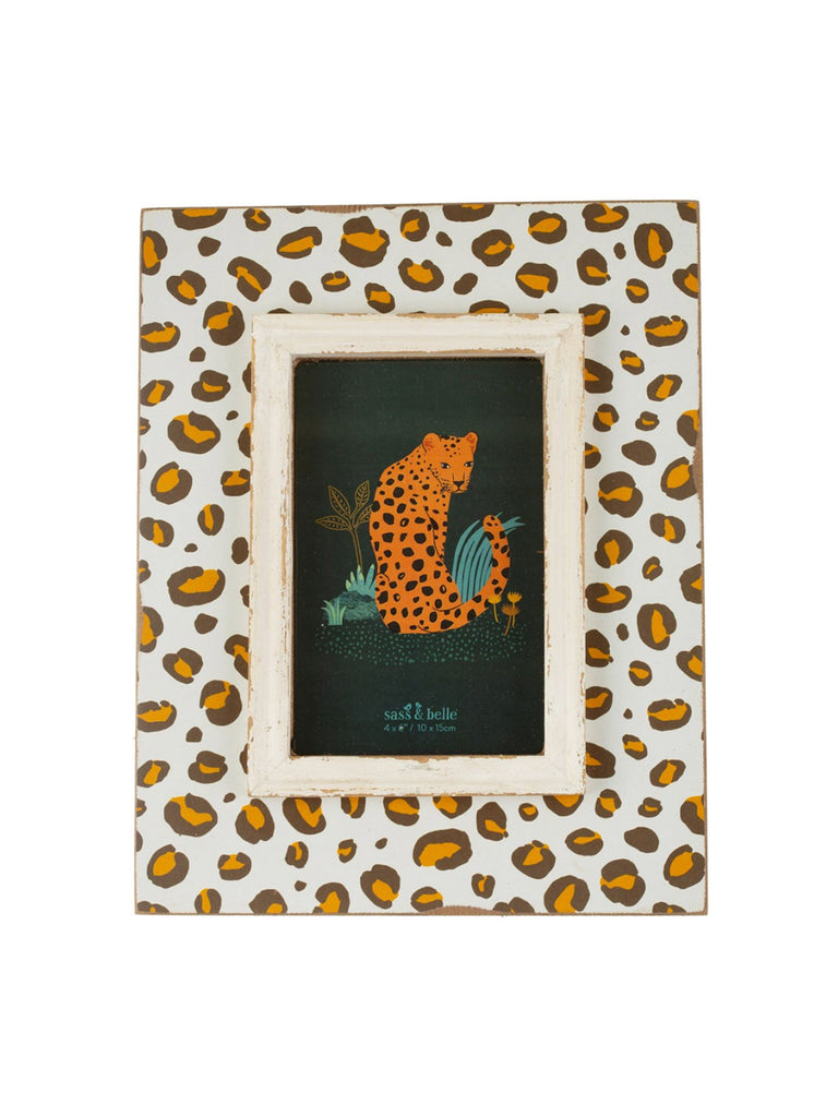 Leopard Love Photo Frame - Car & Kitchen