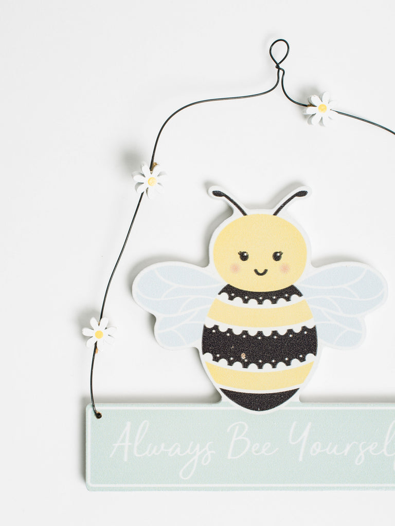 Queen Bee Hanging Plaque Decoration - Car & Kitchen