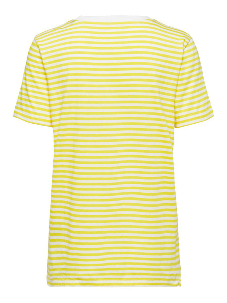 My Perfect Tee Yellow Stripe