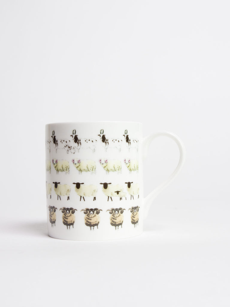 Sheep 'Baa' Mug - Car & Kitchen