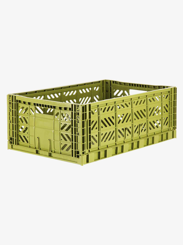 Storage Crate Large - Olive