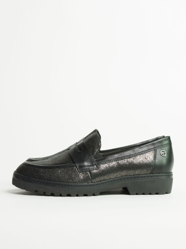 Pewter/Black Loafers