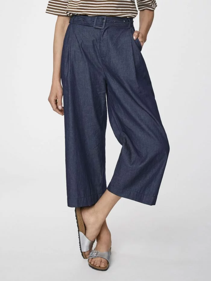 Dark Denim Camilla Culottes
