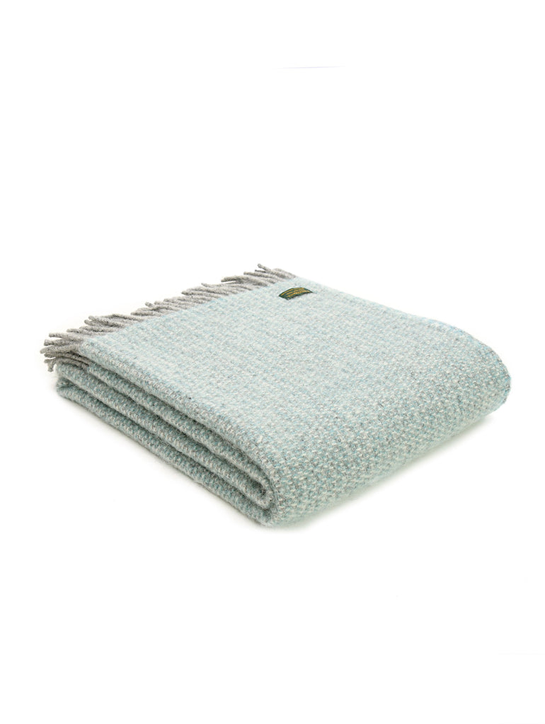 Illusion Spearmint + Grey Throw - Car & Kitchen