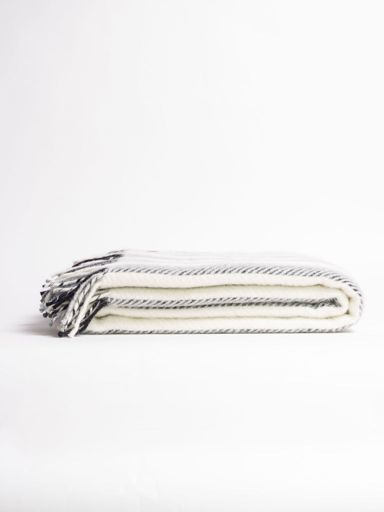 Monochrome Stripe Throw - Car & Kitchen
