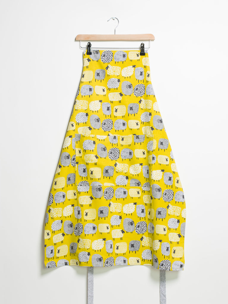 Cotton Apron Dotty Sheep - Car & Kitchen