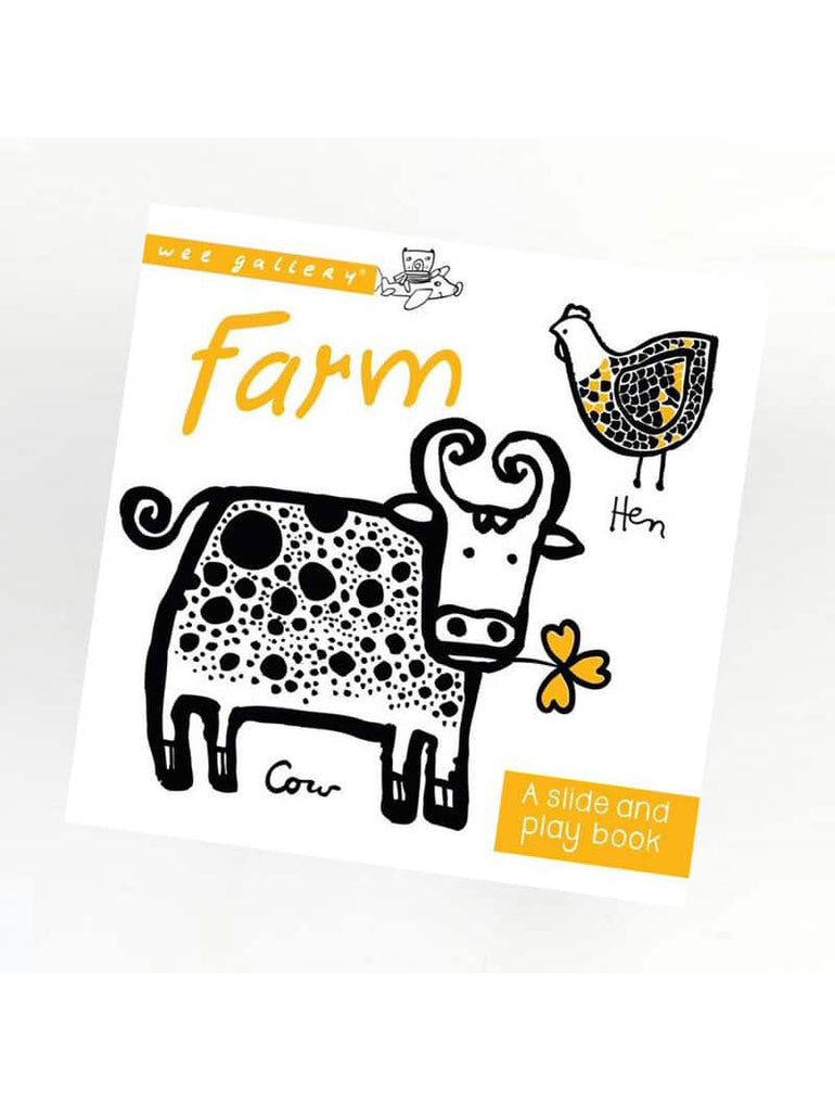 Farm: A Slide + Play Book - Car & Kitchen