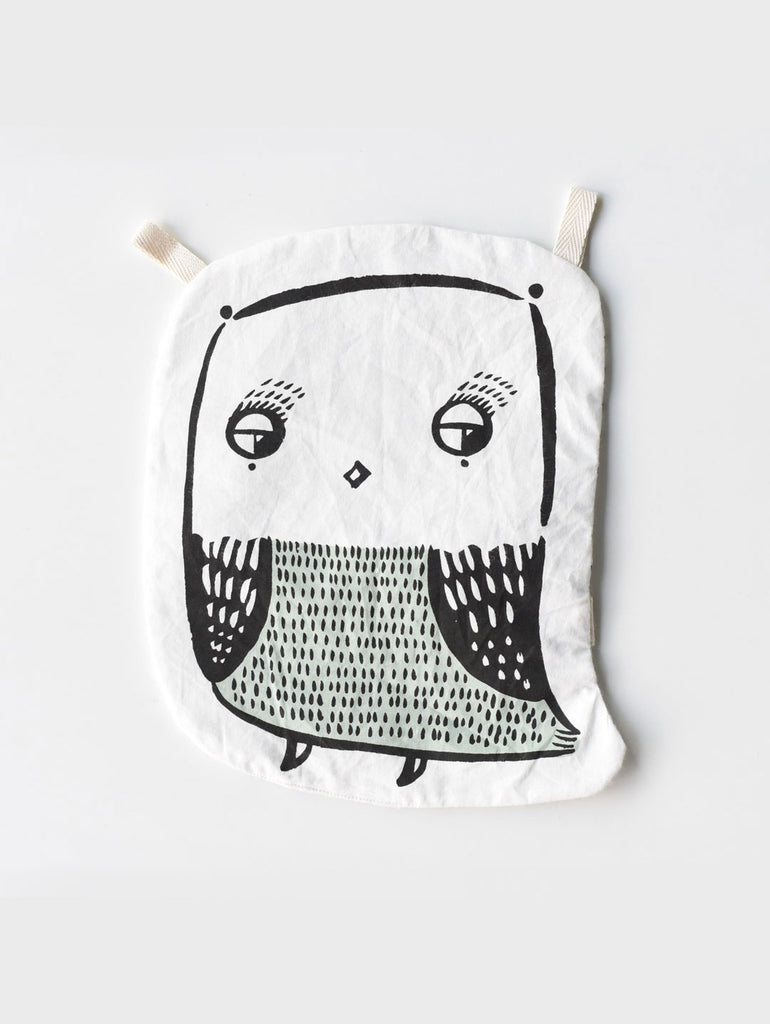 Owl Crinkle Toy - Car & Kitchen
