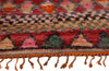 Authentic Vintage Moroccan Azilal Wool Rug 10' 8