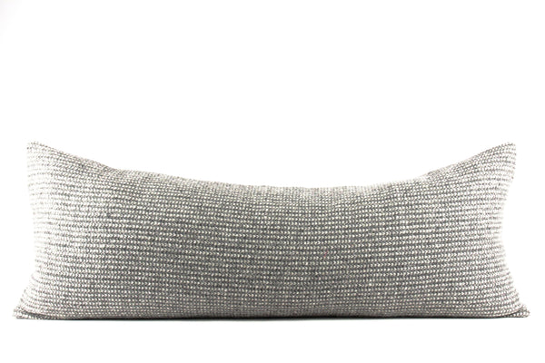 genuine wool lumbar pillow