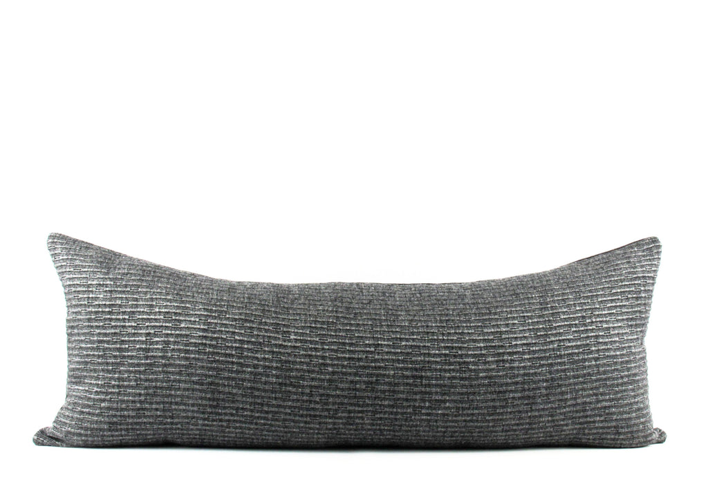 Midnight Wool    Large Lumbar