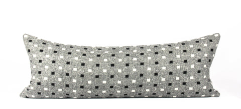 Gray Pendleton pillow