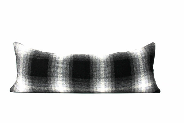 Buffalo plaid Pendleton wool pillow