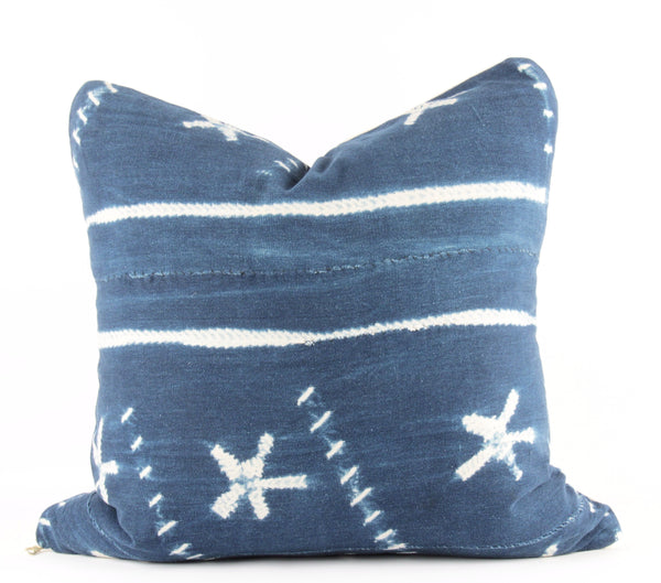 Oceanic Mudcloth Pillow  18