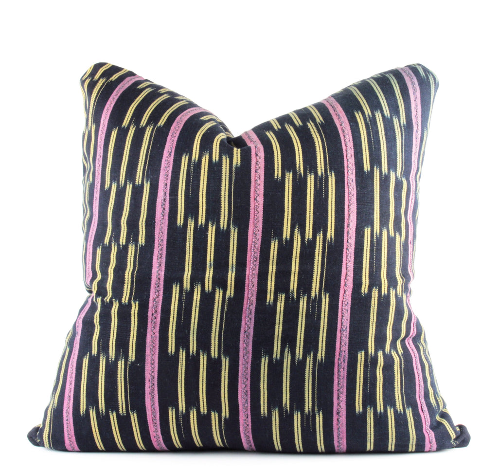 Plum Mudcloth Pillow  22