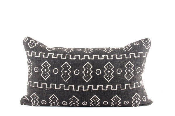 Kingdom Mudcloth Pillow  Medium Lumbar front