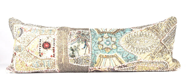 Embellished Pillow  Large Lumbar front
