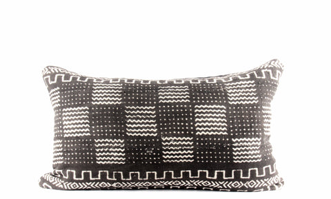 Redux Mudcloth Pillow  Medium Lumbar front