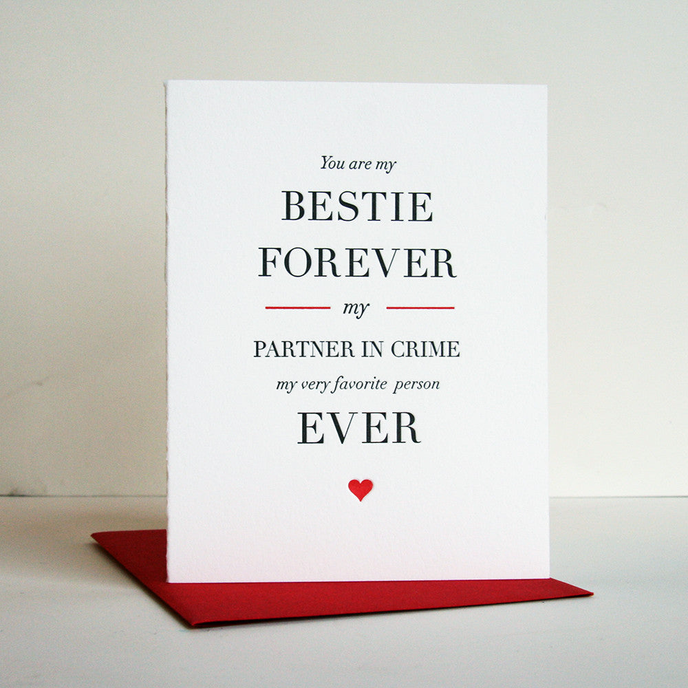 Besties Forever - Steel Petal Press